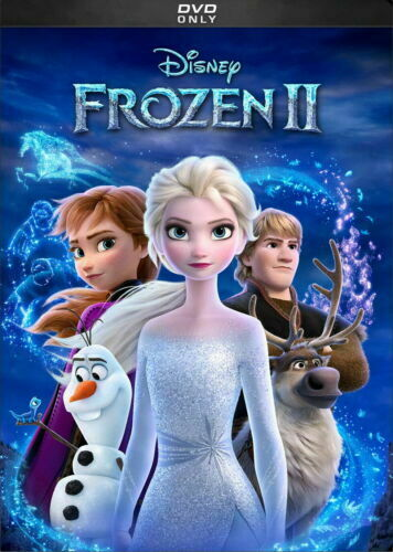 Frozen II / 2 NEW DVD * ANIMATED COMEDY ADVENTURE* SHIPPING NOW !