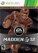 Madden 12 Hall of Fame Edition