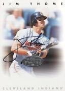 Jim Thome Autograph