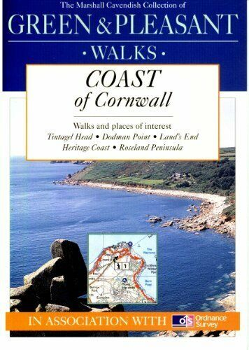 Guide Book to Green & Pleasant Walks, Coast of Cornwall, United Kingdom