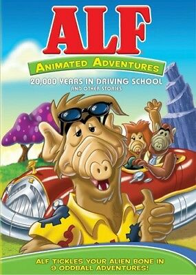 Alf - Alf: Animated Adventures: 20000 Years in Driving [New DVD] Full - New Years Frames