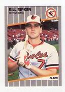 1989 Fleer Bill Ripken