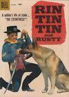Rin Tin Tin Dell Ungraded Silver Age Comics (1956-1969)