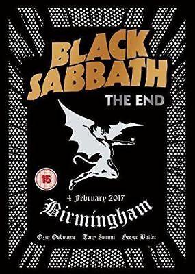 BLACK SABBATH - THE END (LAST EVER LIVE SHOW) DVD 2017