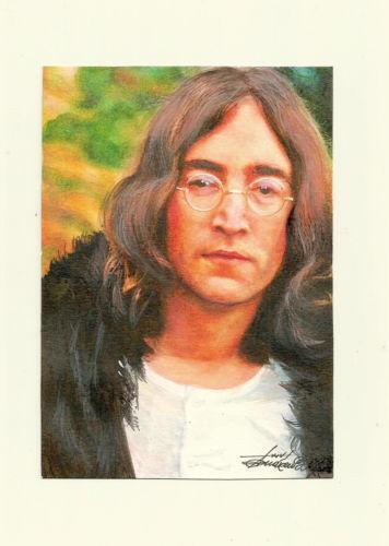 John Lennon Painting Ebay
