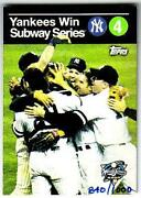 2000 Topps Subway Series
