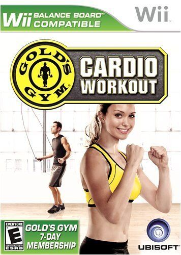 Gold's Gym Cardio Workout [nintendo Wii, Ntsc Video Game,...
