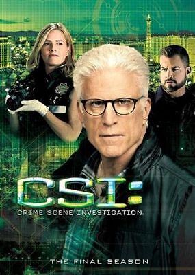 Csi Crime Scene Investigation Complete Fifteenth Season 15 Series Dvd Tv Fifteen