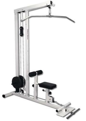 free weight lat machine
