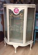 Shabby Chic Glass Display Cabinet