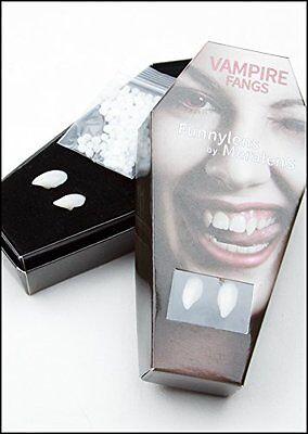Funnylens vampirzähne Vampirkostüm Halloweenparty Halloweenkostüm Vampire (Kostüm Vampir Zähne)