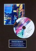 David Bowie Signed