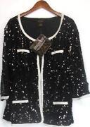 Sequin Jacket 3X