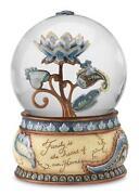 Flower Water Globe