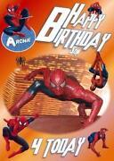 Personalised Spiderman Card