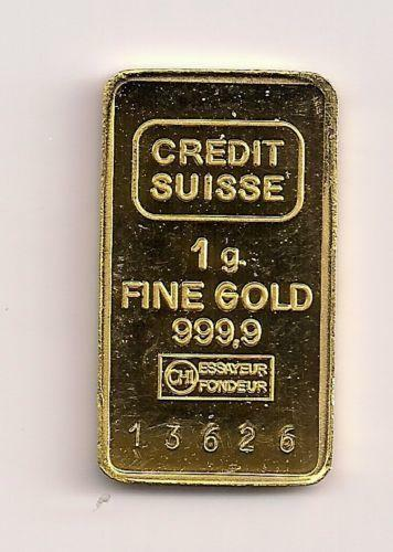 Swiss Gold Bar Ebay