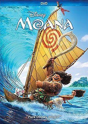 New   Moana  Dvd 2016  Comedy  Family  Animation  Shipping Today