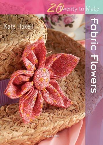 fabric flowers book