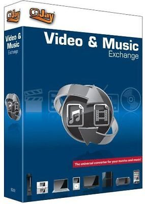 eJay Video & Music Exchange - Audio and Video Converter Software. CD/DVD Ripper. for sale  Shipping to Canada
