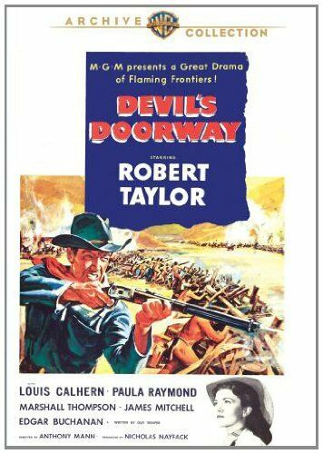 DEVILS DOORWAY (1950 Robert Taylor) Region Free DVD - Sealed