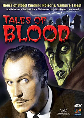 TALES OF BLOOD - Horror set, 40 Movie - 8 DVD's. Creatures/Monsters, Cult