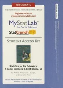 Mystatlab access code Read Description Please