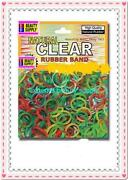 Clear Hair Rubber Bands