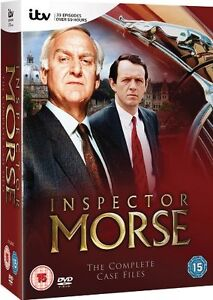 INSPECTOR MORSE - Complete Series 1-12 Collection Box Set NEW DVD