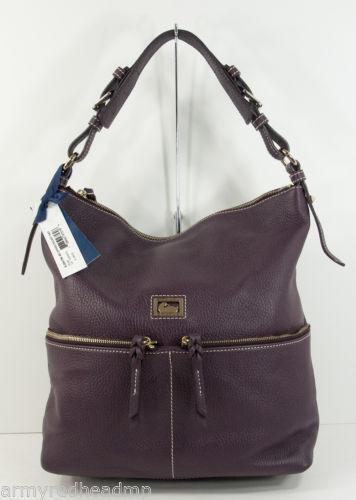 dooney and bourke purple bag ebay. Black Bedroom Furniture Sets. Home Design Ideas