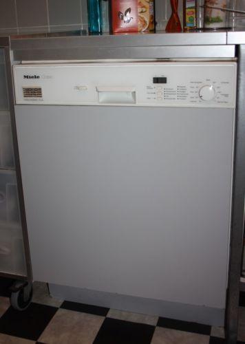 Geschirrspulmaschine miele geschirrspuler ebay for Geschirrspülmaschine miele