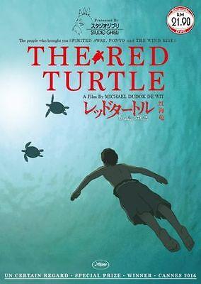 The Red Turtle Studio Ghibli Anime Movie Dvd
