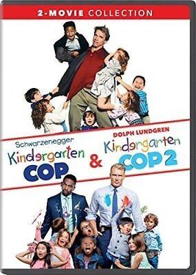 Kindergarten Cop / Kindergarten Cop 2: 2-Movie Collection [New DVD] 2 Pack, Sn