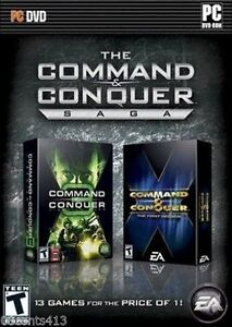The Command and Conquer - Saga (PC)