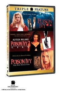 POISON IVY 1,2,3 POISON IVY /  LILY / THE NEW SEDUCTION DVD R1  TRIPLE FEATURE