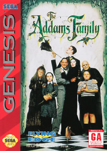 Looking for The Addams Family for Sega Genesis