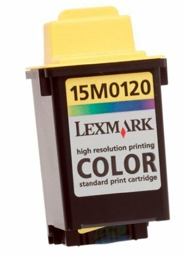 Genuine Lexmark 20 Color Ink Cartridge 15M0120 Color New Sealed OEM 15MO1 20