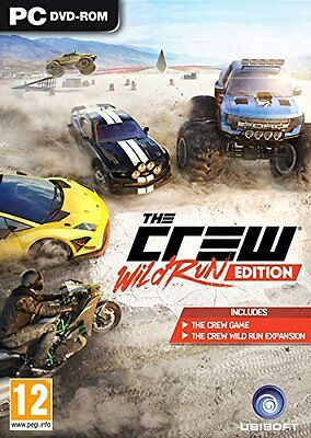 The Crew Wild Run Edition (PC-DVD) BRAND NEW SEALED
