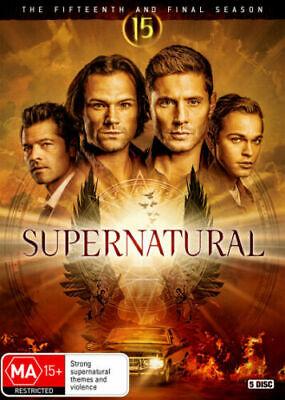 Supernatural The Fifteenth and Final Season 15 BRAND NEW DVD REGION 4
