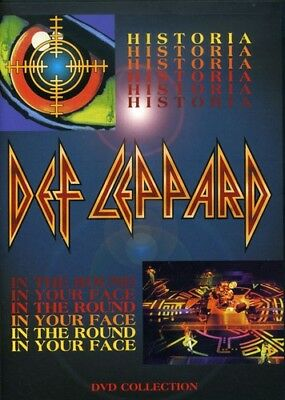 Def Leppard - Historia / in the Round in Your Face [New DVD] (Your Face Movie)