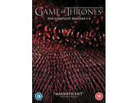 Game of Thrones box set season 1-4