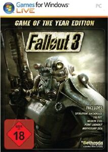 Fallout 3 Game Of The Year Edition (EU Version), sealed
