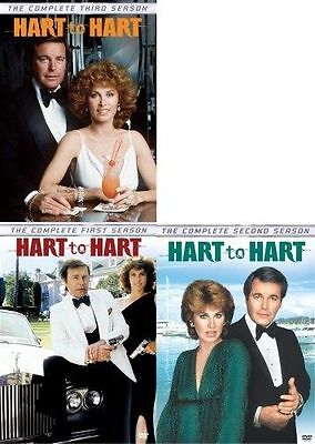 Hart to Complete Series Season 1 2 3 DVD Set TV Show Collection Bundle Episodes (Hart To Hart Dvd Complete Series)
