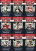 2011 Topps Super Bowl Legends Giveaway