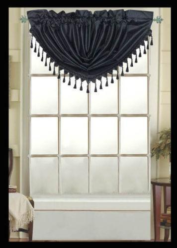 Free Shipping Multi Color Door Window Panels String: Black Fringe Curtains