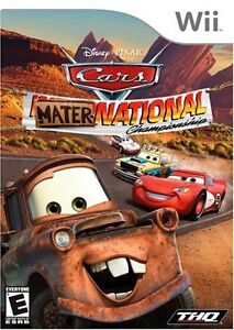 CARS: MATER-NATIONAL (WII)