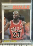 Michael Jordan Fleer Rookie Card