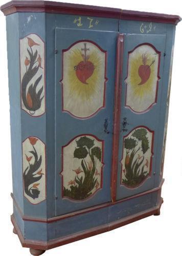 alter bauernschrank mobiliar interieur ebay. Black Bedroom Furniture Sets. Home Design Ideas