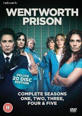 WENTWORTH PRISON SERIES 1-5 COMPLETE DVD BOX SET NEW SEASONS 1 2...
