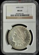 NGC PL Morgan Dollar