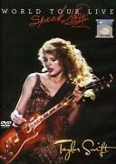 Taylor Swift Speak Now DVD
